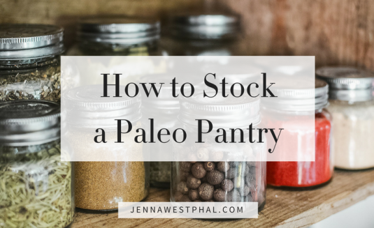 Paleo Pantry (Rectangle)