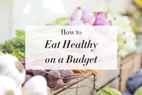 Healthy on a Budget (Rectangle)