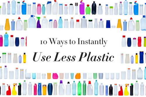 Use Less Plastic v2 (Rectangle)