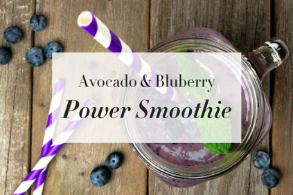 Avocado Blueberry Smoothie (Rectangle, No Web)