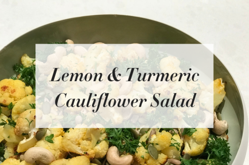 Lemon & Turmeric Cauliflower Salad (Blog Rectangle)